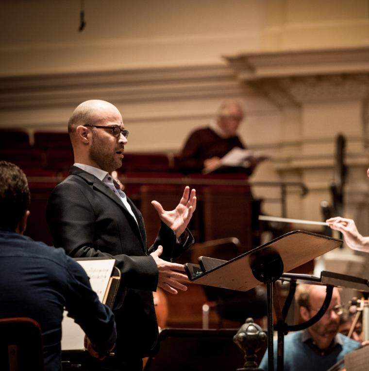 Rehearsing Dream of the Song with George Benjamin, Royal Concertgebouw Orchestra 2015